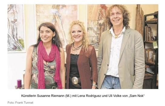 Susanne Riemann – Neue Ausstellung in der Altstadt – Hannover – Bild.de