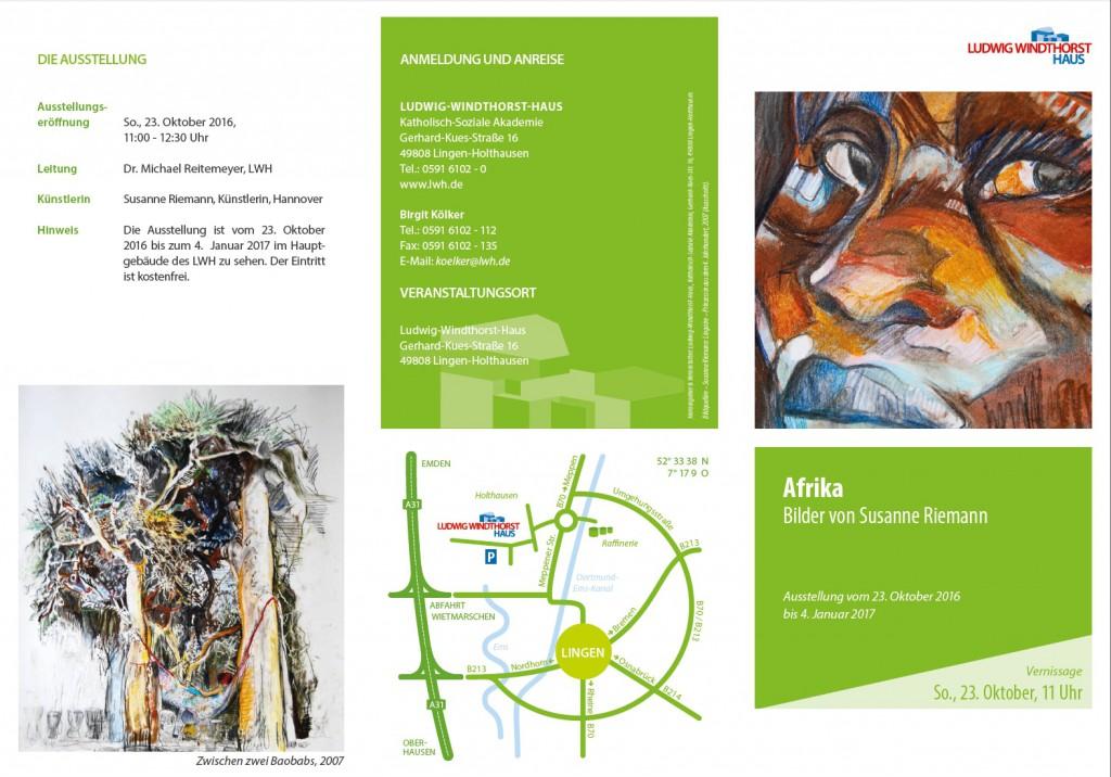 Einladungskarte Afrika-LWH Lingen 1