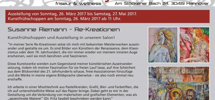 Ausstellung bei Schartenberg in Hannover-Stöcken
